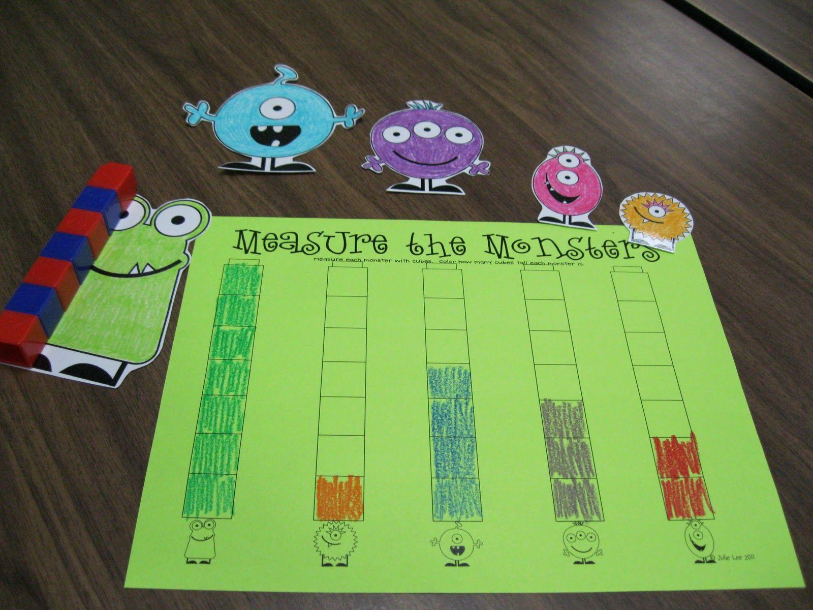 Lots Of Monster Activities Go Away Big Green Monster