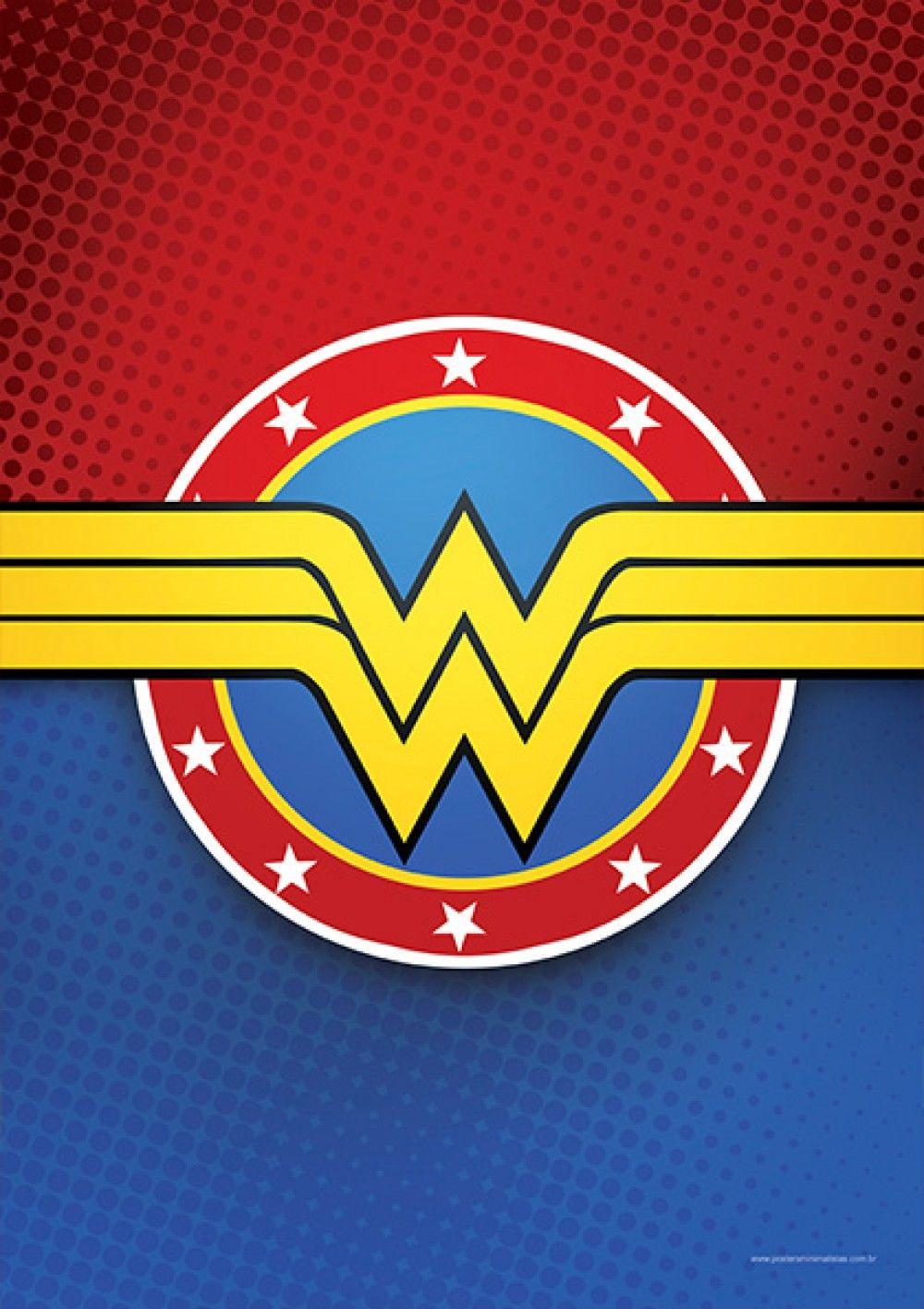 Wonder Woman DC Comics Posters Minimalistas