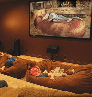 Giant Bean Bag Bed Collection looks so restful! Home