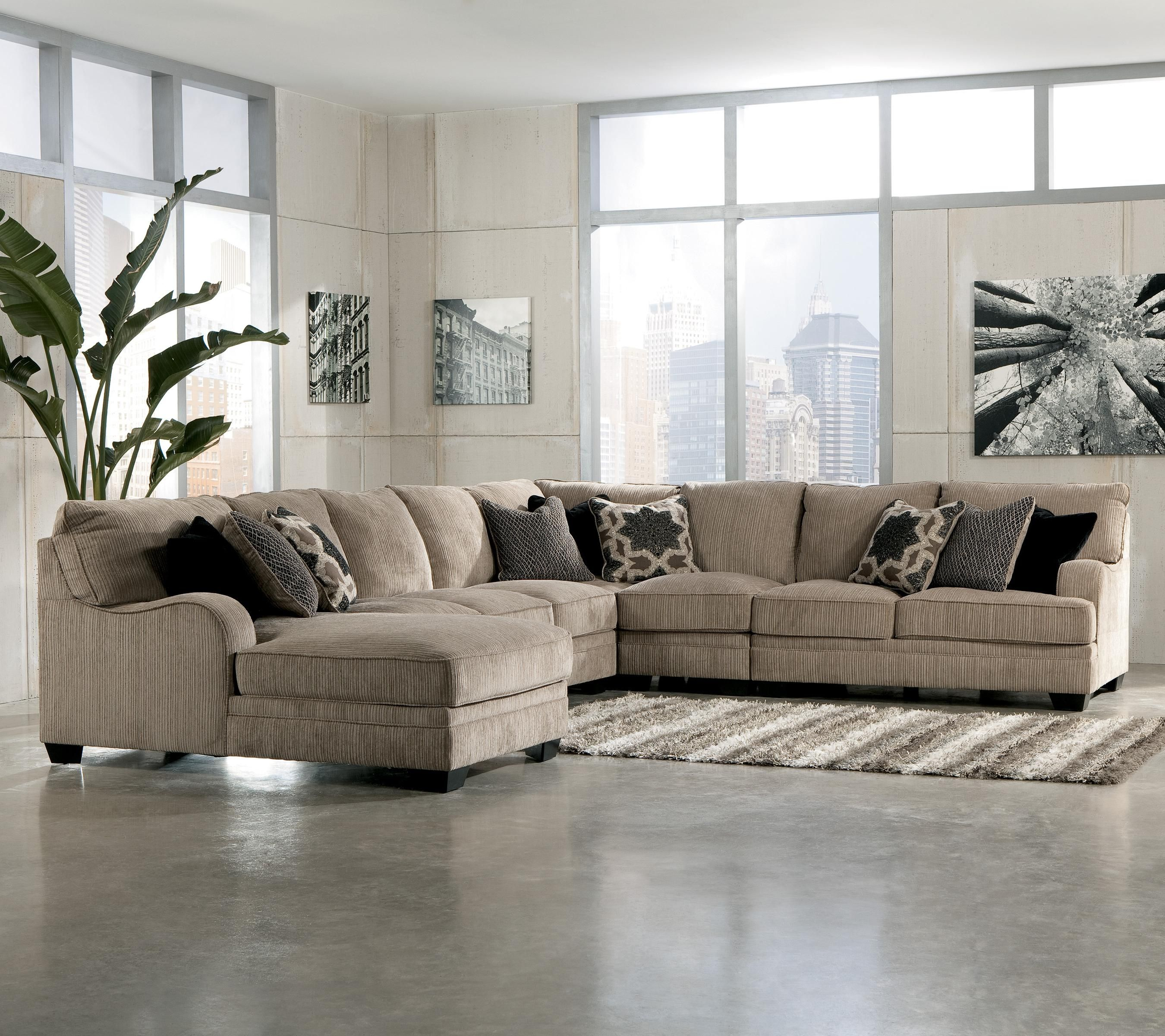 Living Room Sectional Katisha 4 Piece Sectional By Ashley