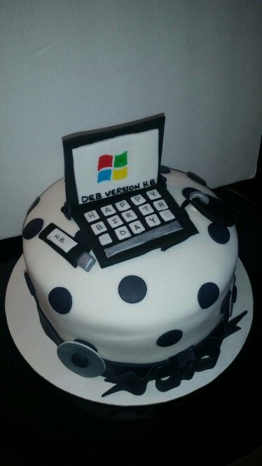 Computer Cakes By C S Creations My Cakes Pinterest
