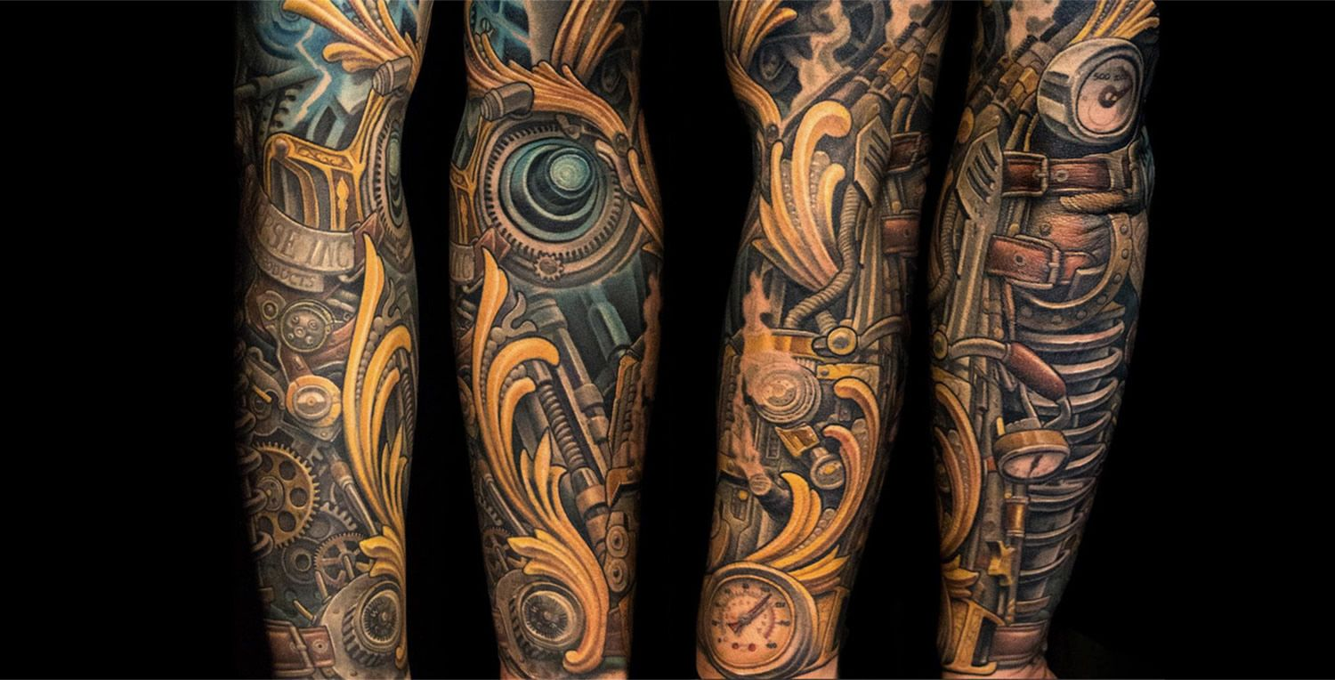 10 Expert Biomechanical Tattoo Artists Biomechanical