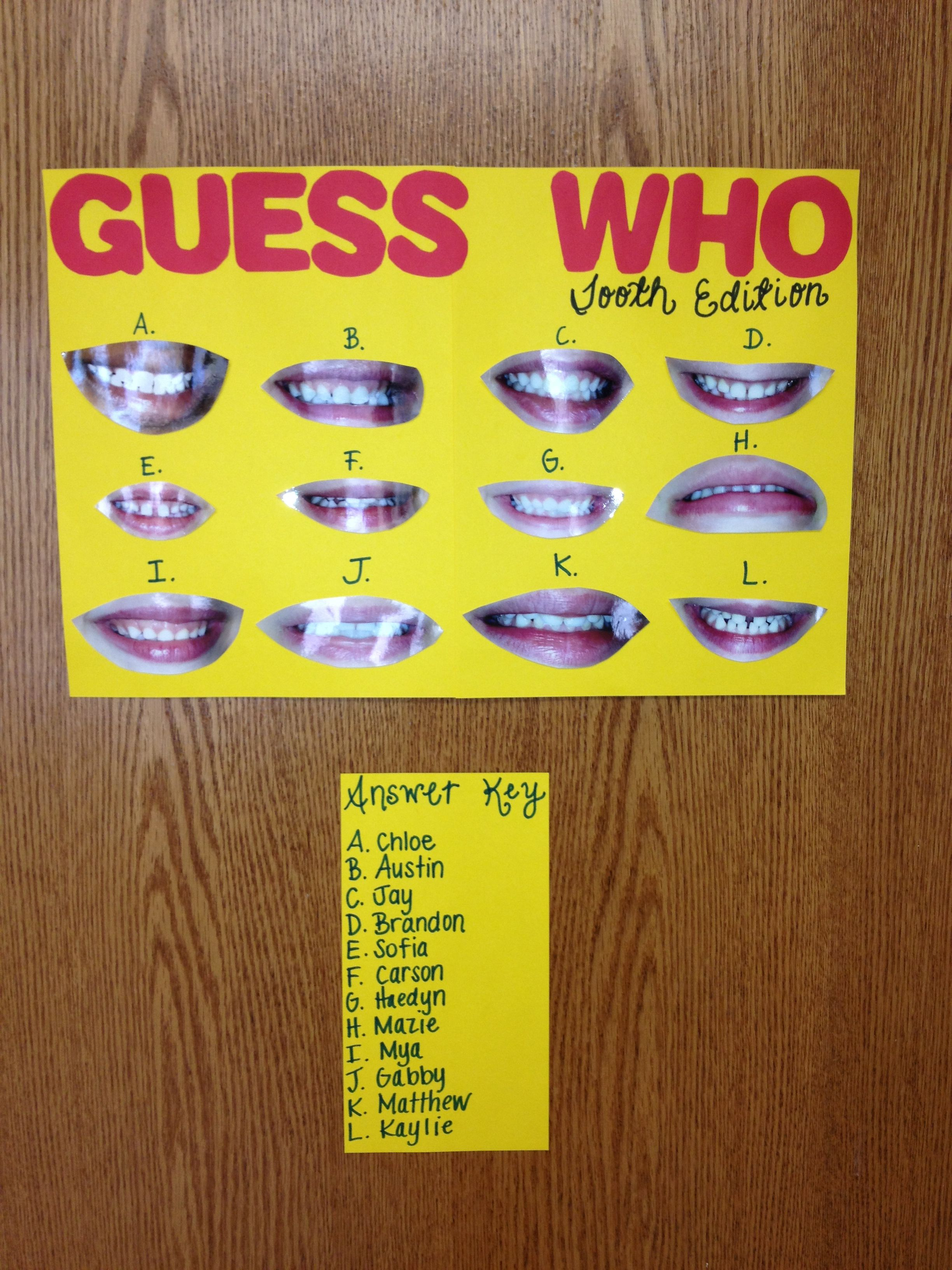 Dental Hygiene Activity For Pre K I M Totally Doing This With My Preschoolers