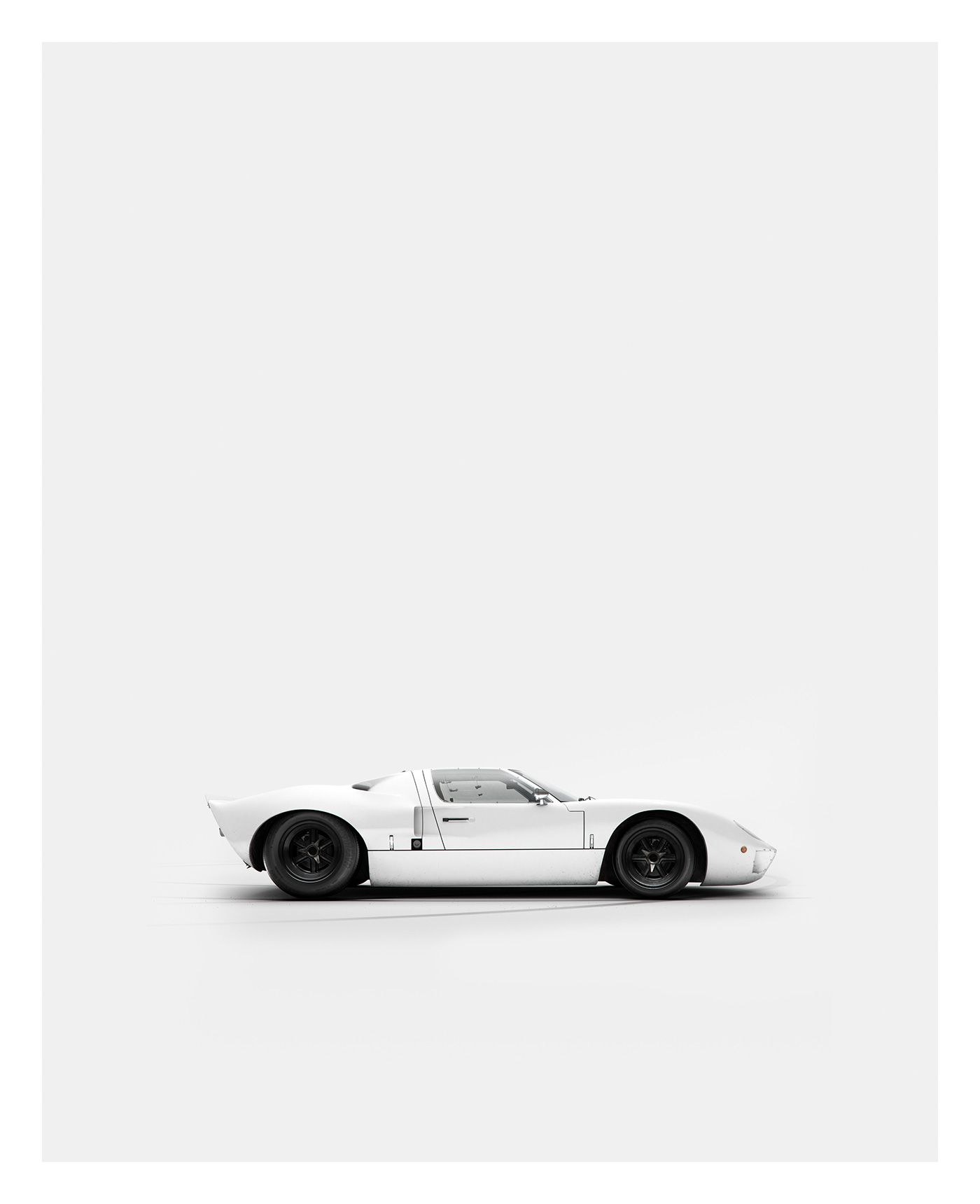 Ford gt40 by ink studio abduzeedo cars motos pinterest
