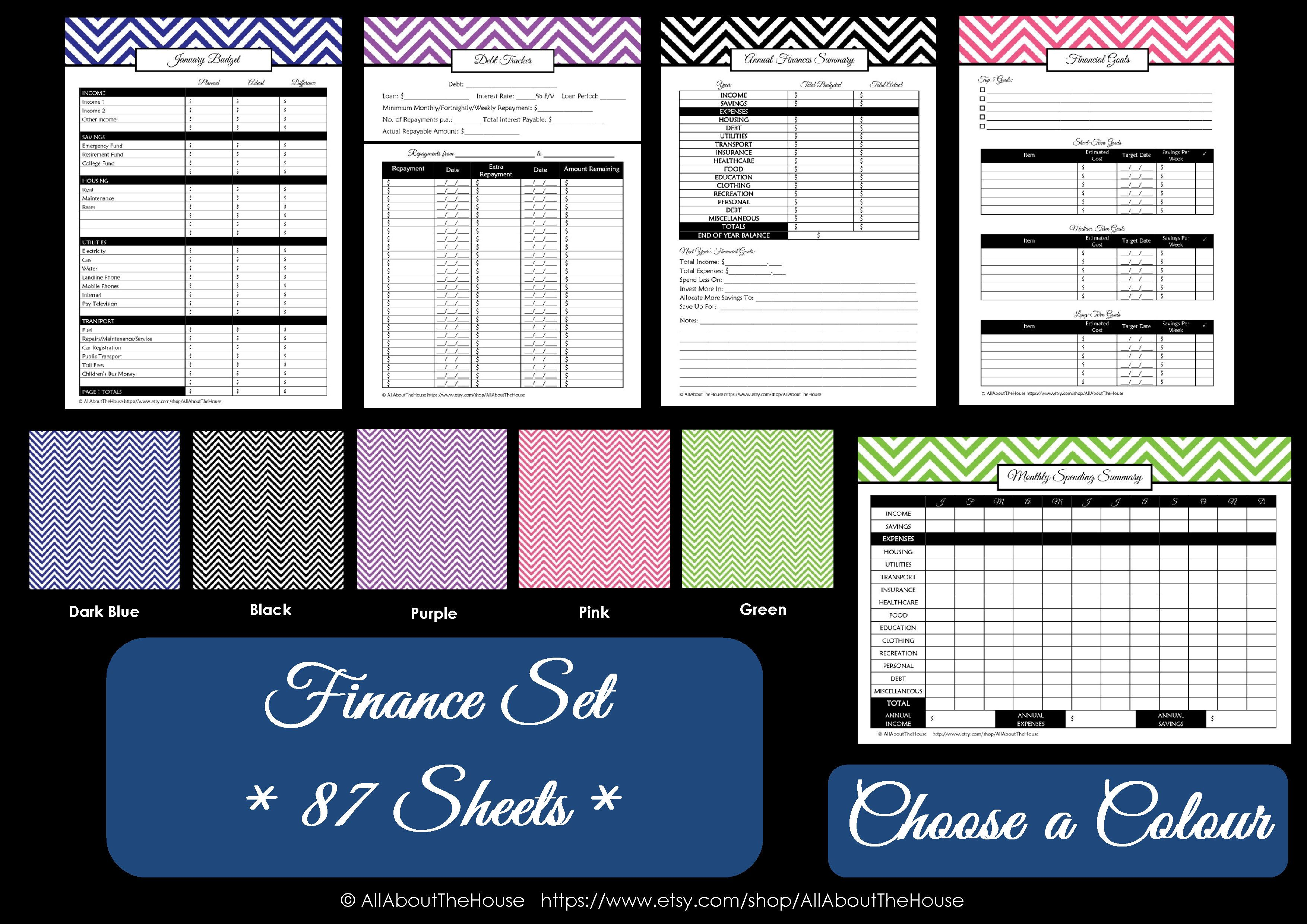 Best 25 Monthly Budget Printable Ideas