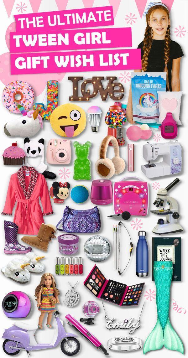 Gifts For Tween Girls Tween girls, Tween and Christmas gifts