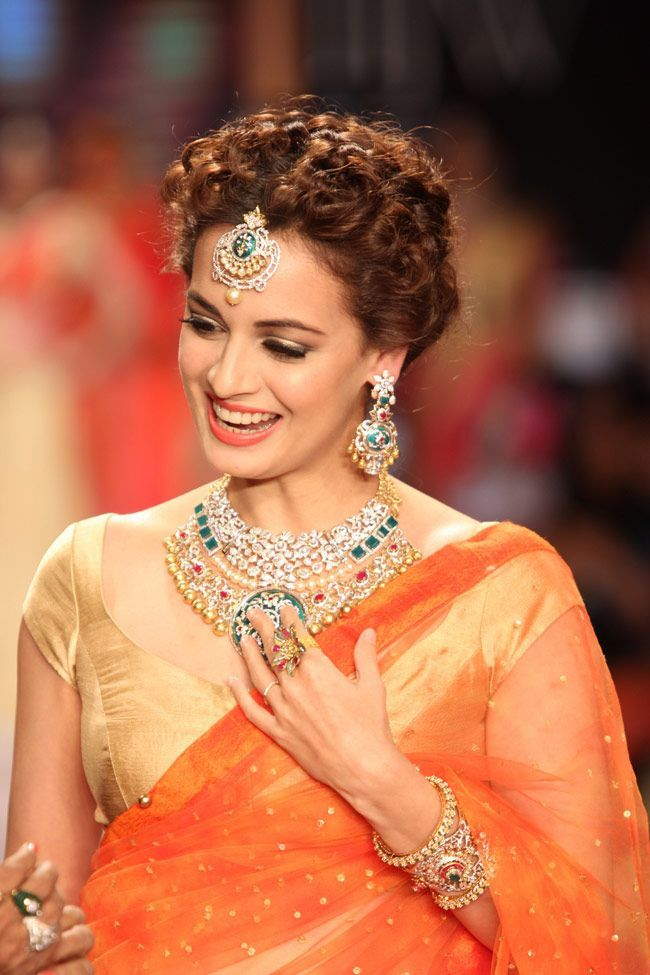 Diya Mirza Desi Style Thats How Its Done Pinterest