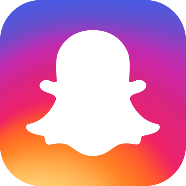 15 Logos Reimagined With Instagram's New Colors Snapchat