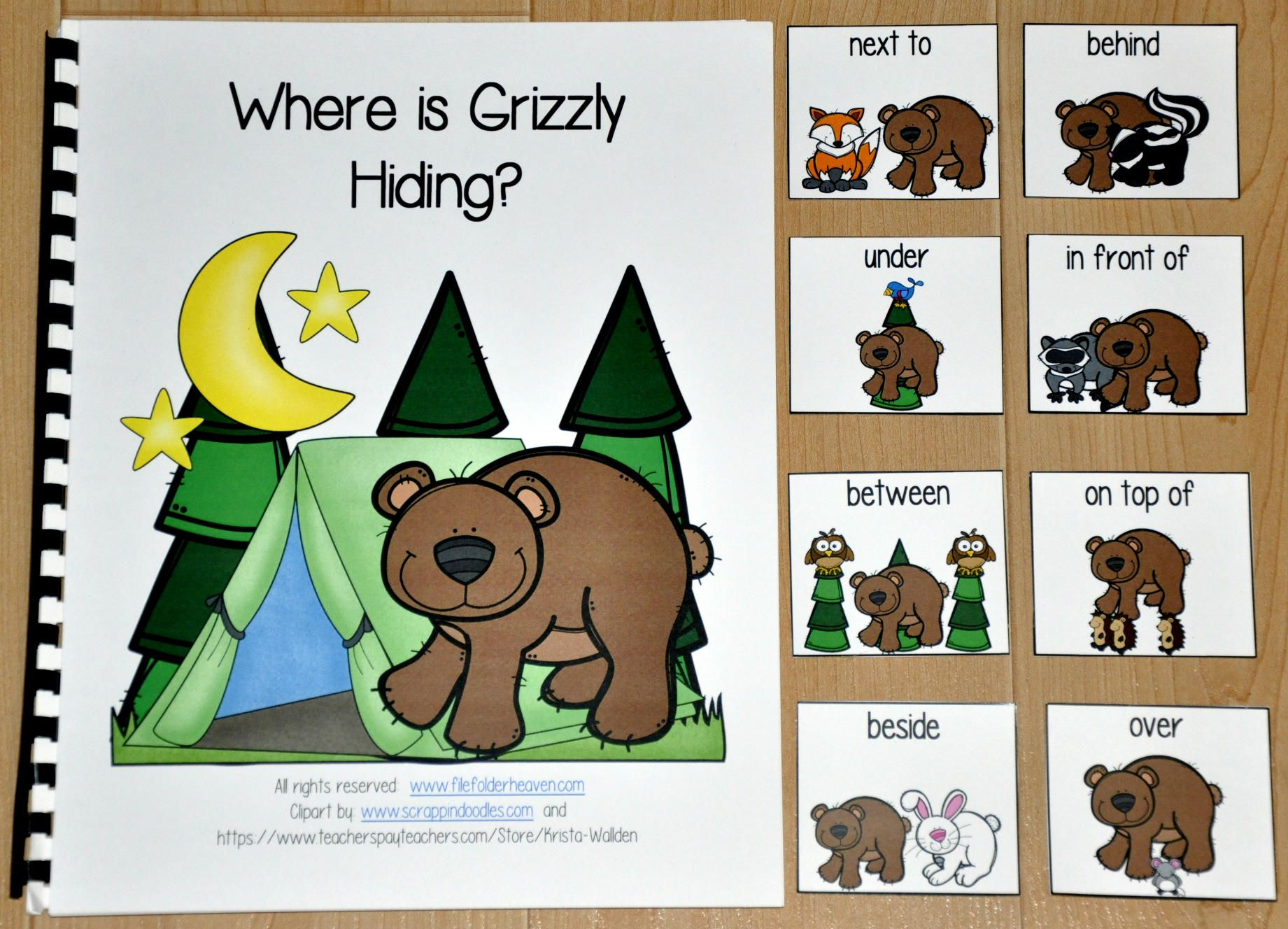 This Adapted Book Where Is Grizzly Hiding Is A Forest