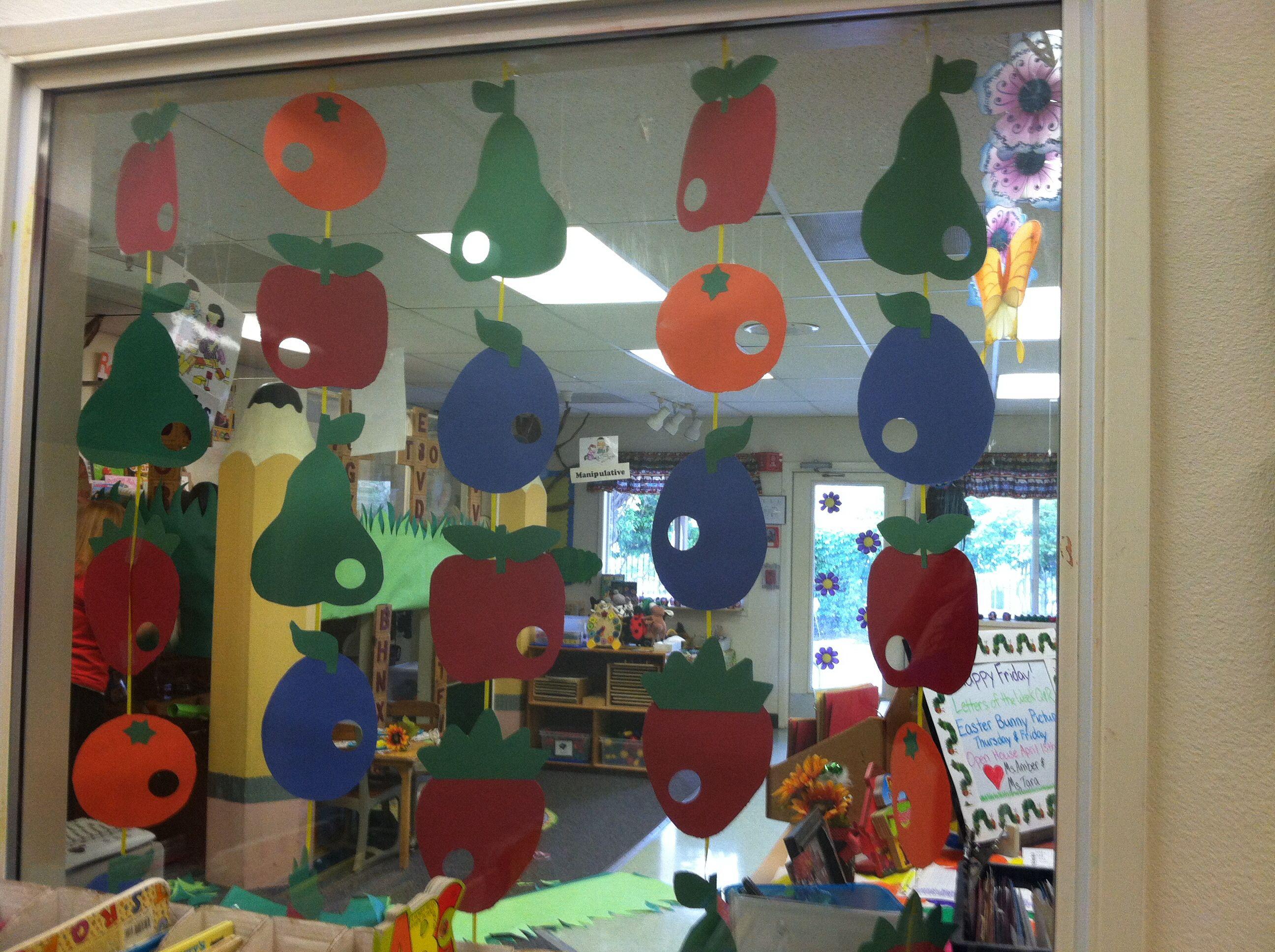 The Very Hungry Caterpillar Classroom