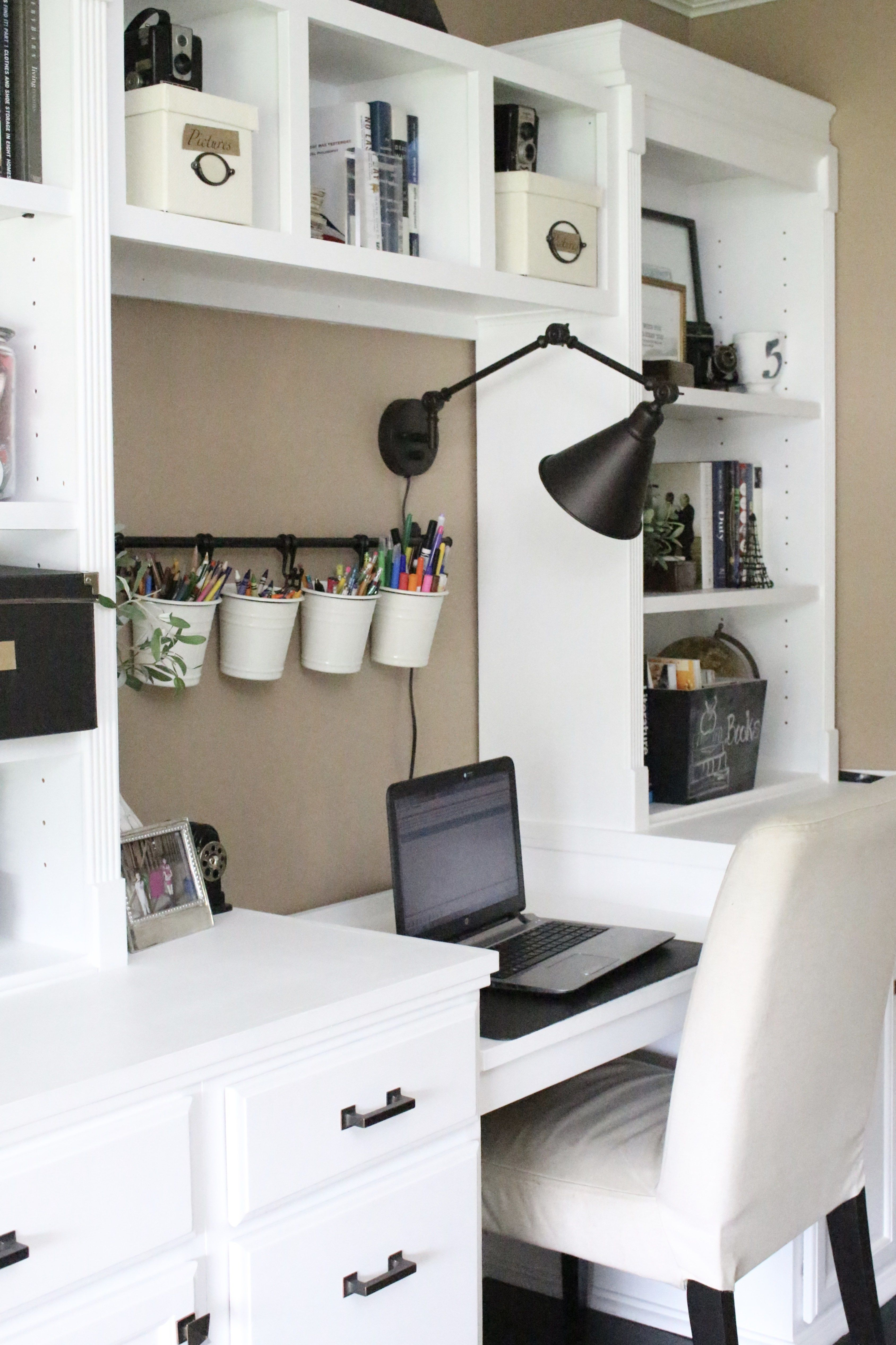 Home office craft room reveal home office space craft