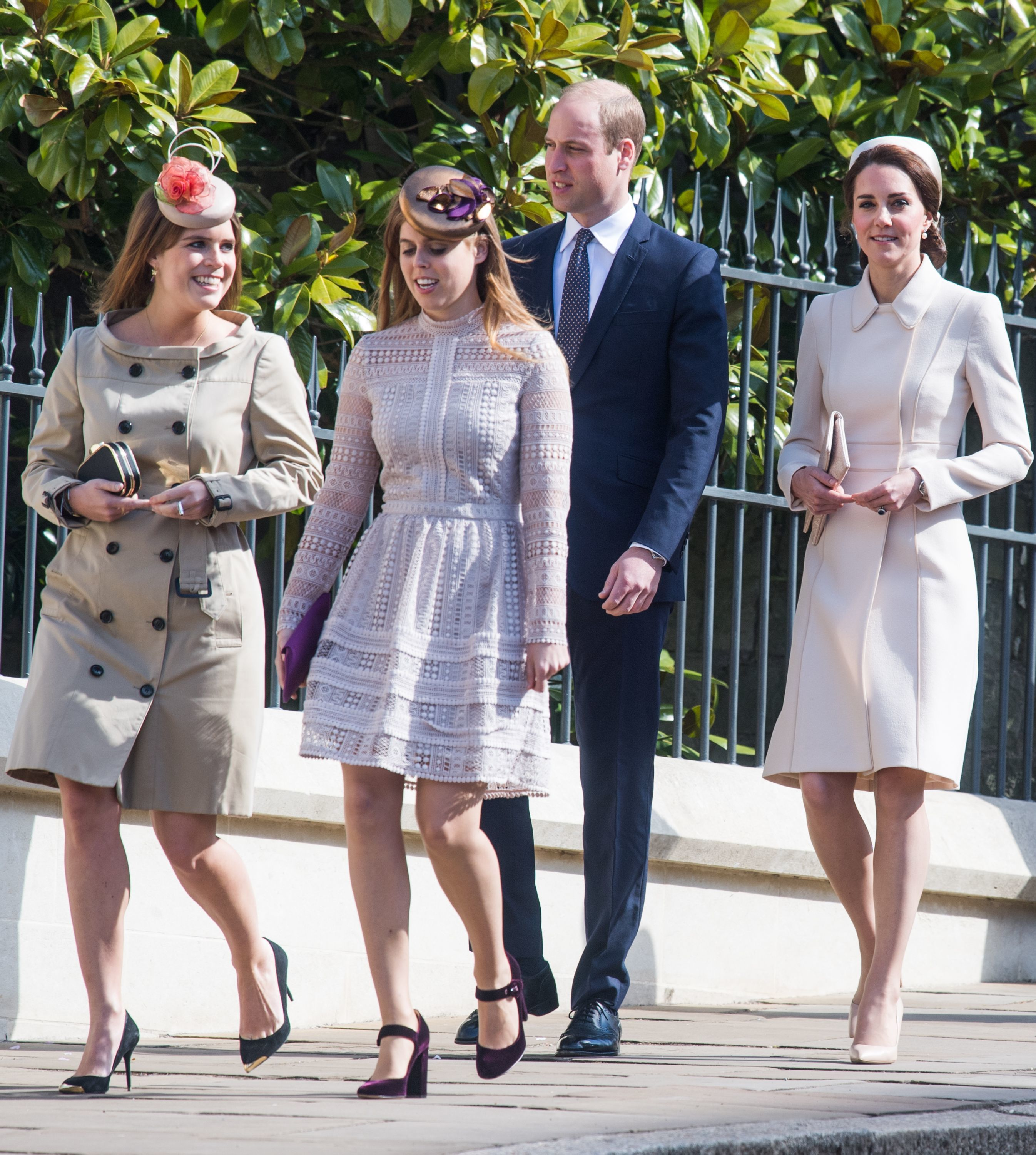 The Royal Family Spend Easter Sunday At Windsor Castle