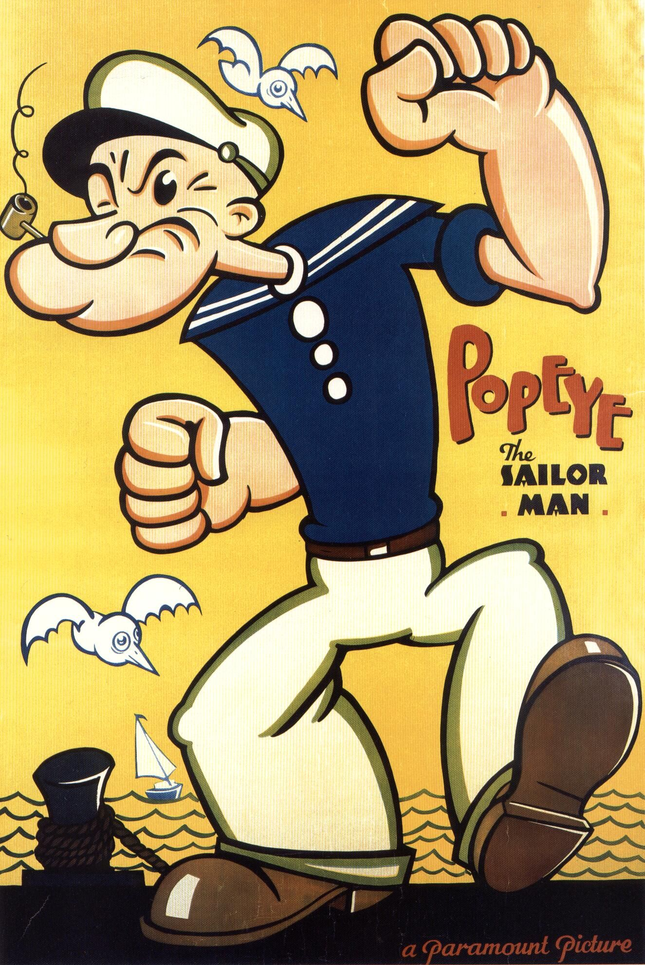 "popeye the sailor man | ""popeye""$ 