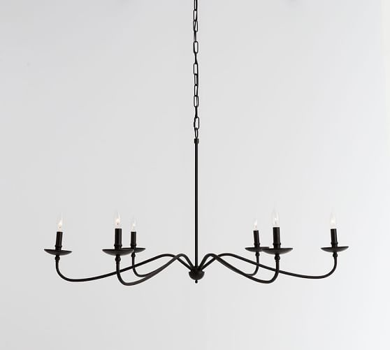 Lucca Chandelier Pottery Barn