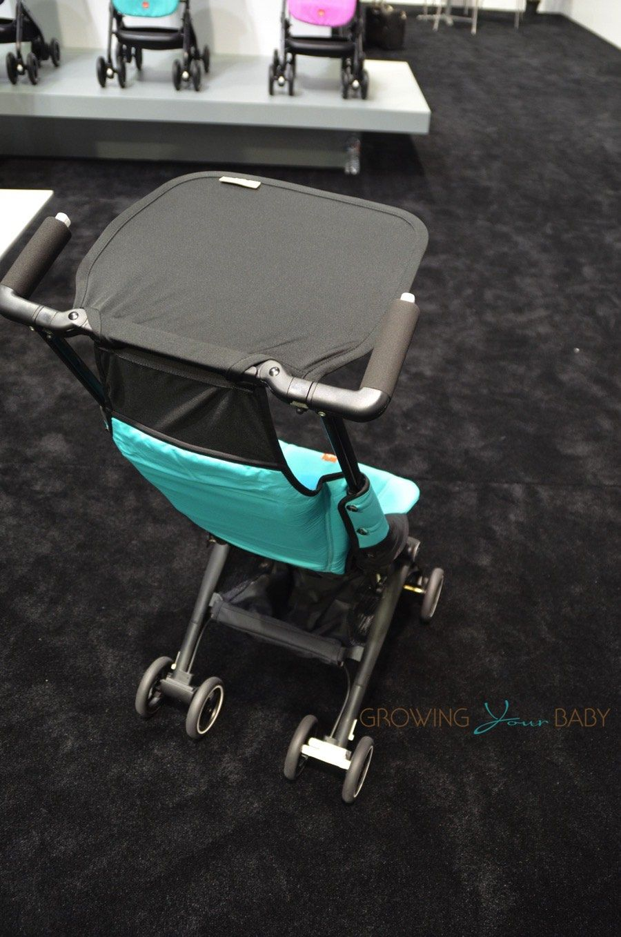 GB Debuts Their Ultra Light, Compact Pockit Stroller! IN