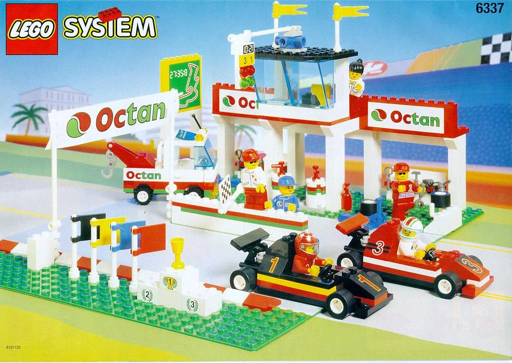 Town FORMULA 1 RACETRACK [Lego 6337] Lego Sets I Have