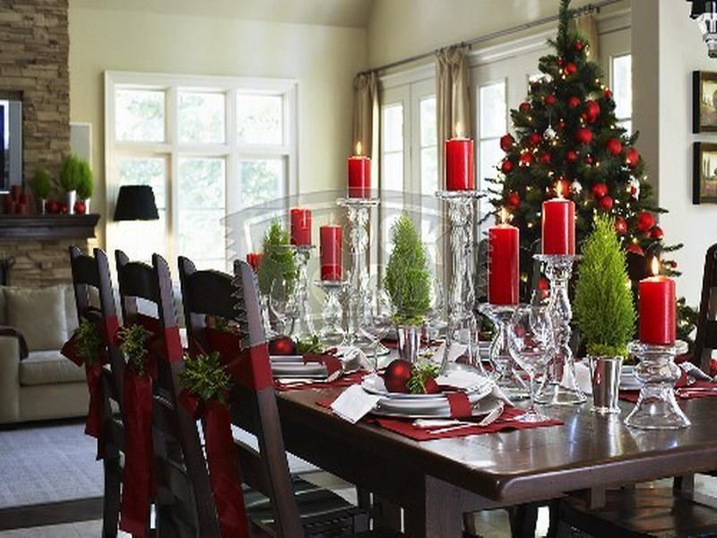 Kitchen Table Decorating Ideas Pictures: Christmas Kitchen