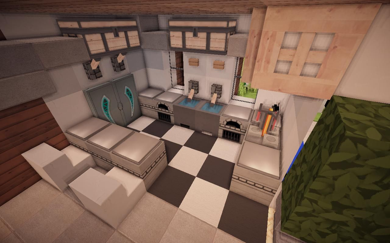 minecraft kitchen ideas 04 Minecraft Pinterest