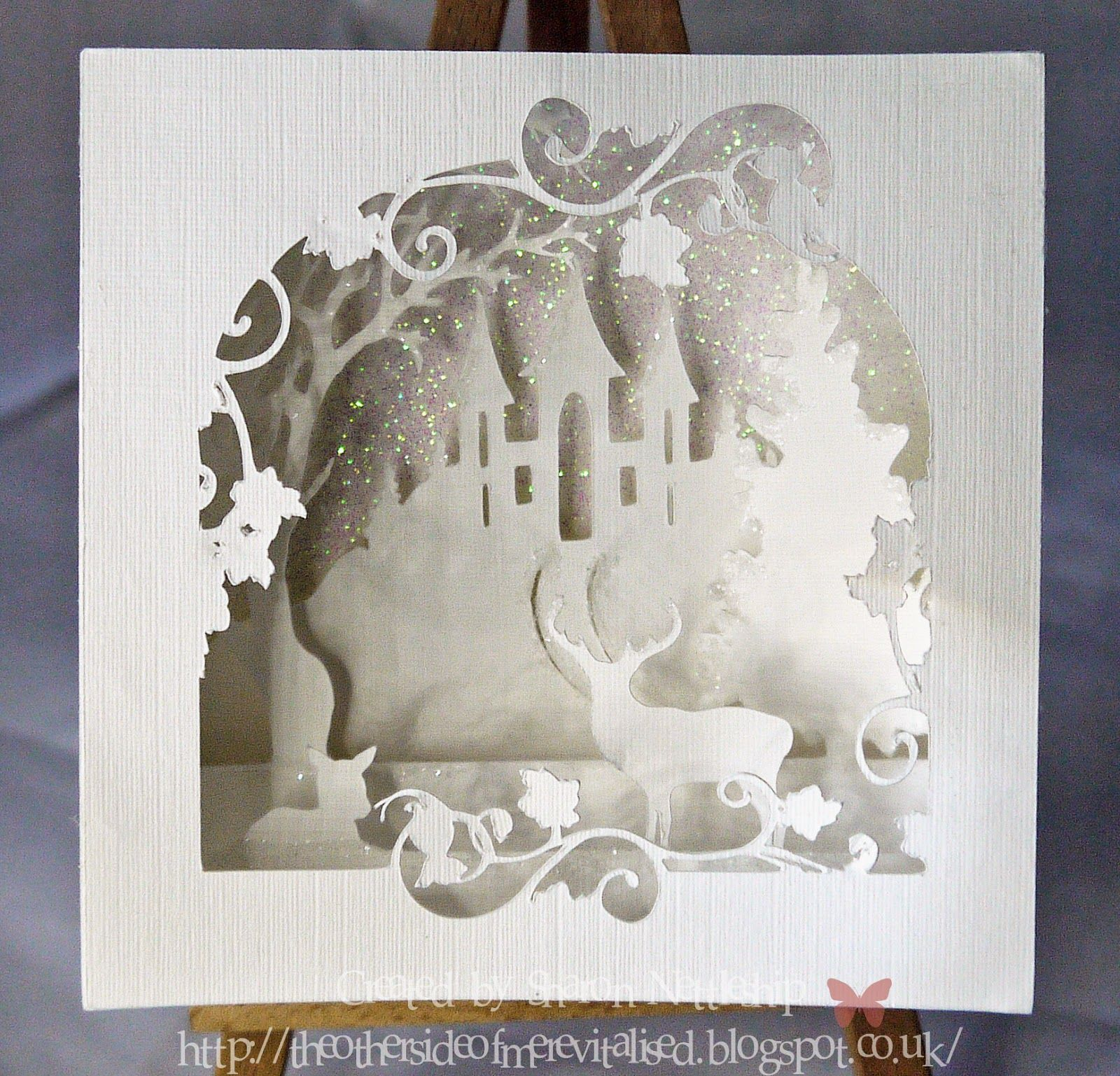The other side of me Crafty SVG Designs 3D layered