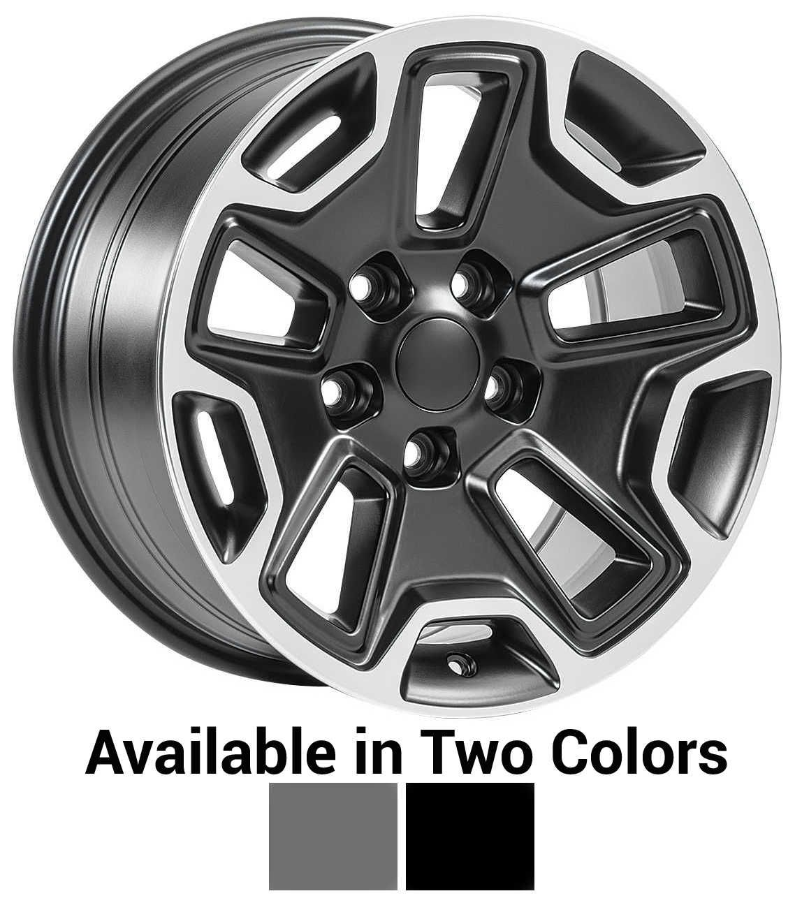 """17x8.5 with 5.2"""" Backspacing 5x5 Bolt Pattern. Introducing"""
