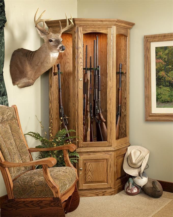 Amish Corner Gun Safe Guns, Corner and Gun storage