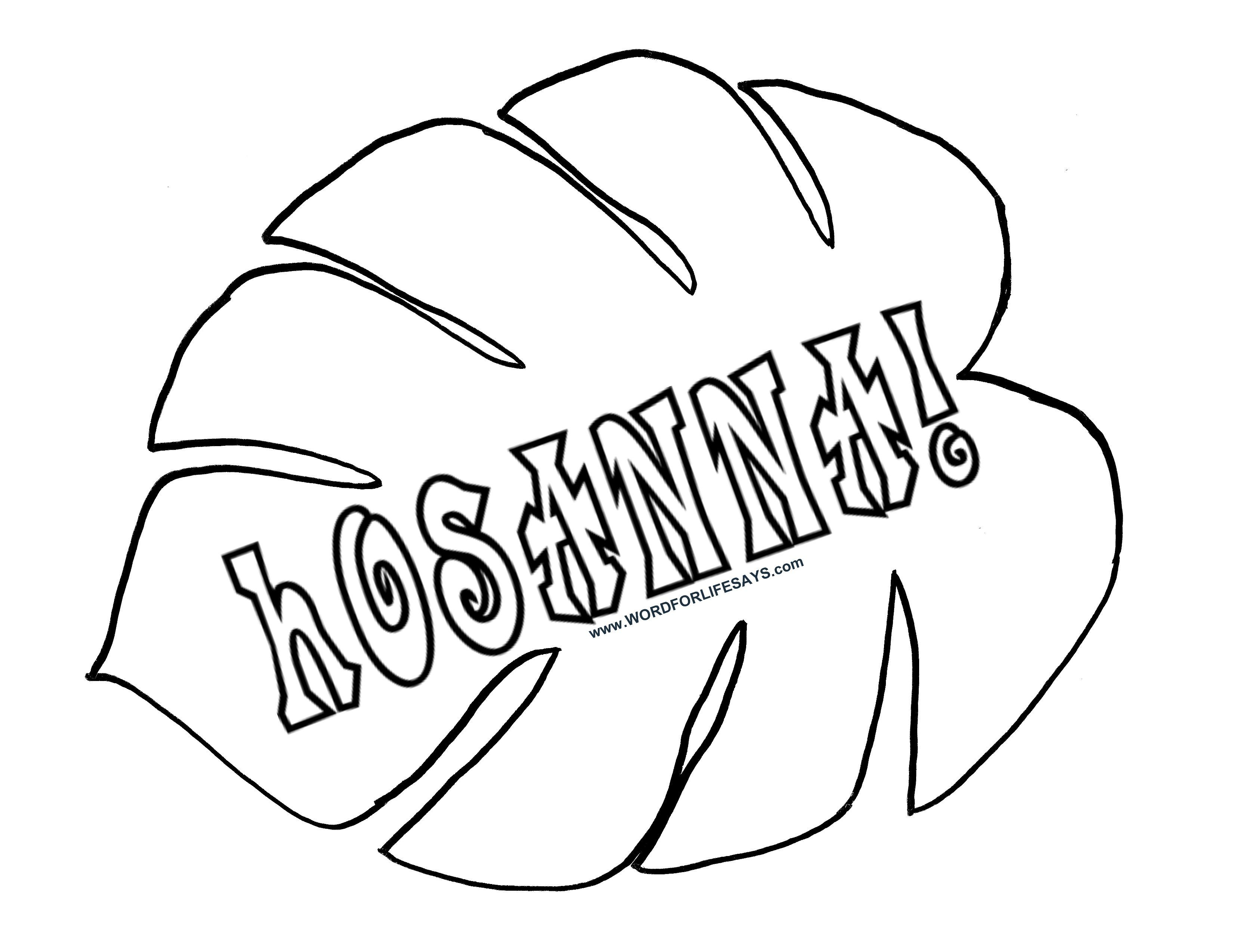 Palm Leaf Black And White Clipart