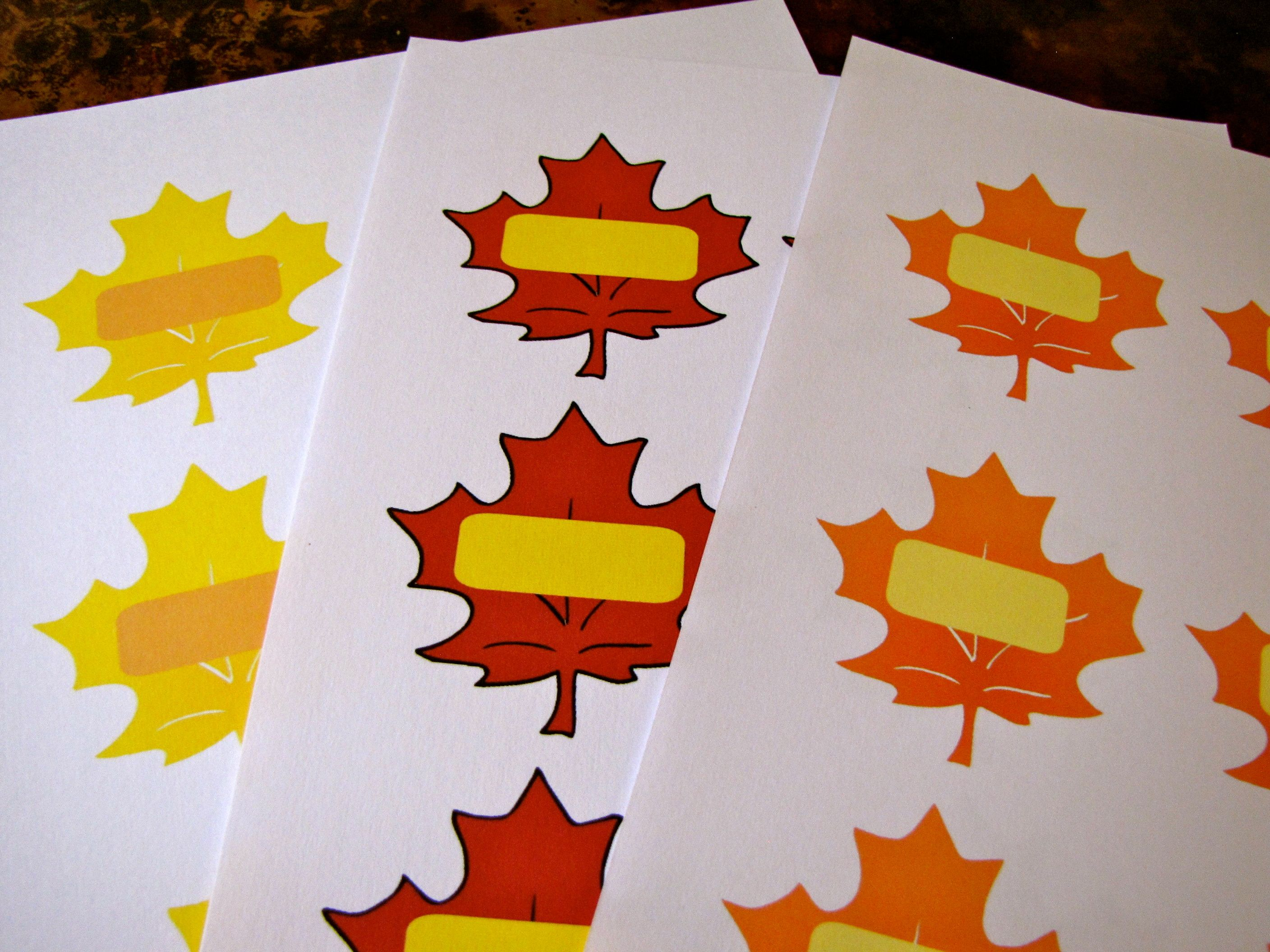 Autumn Leaves For Preschool Free Printables From Creekside Learning