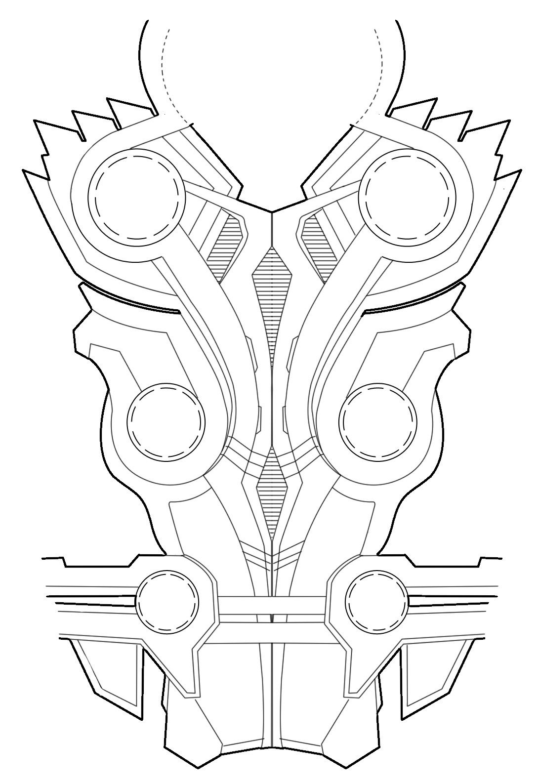Thor Avengers Budget Foam Armour Tumblr M932xejsu01re0ktno1 R1 D 1 091