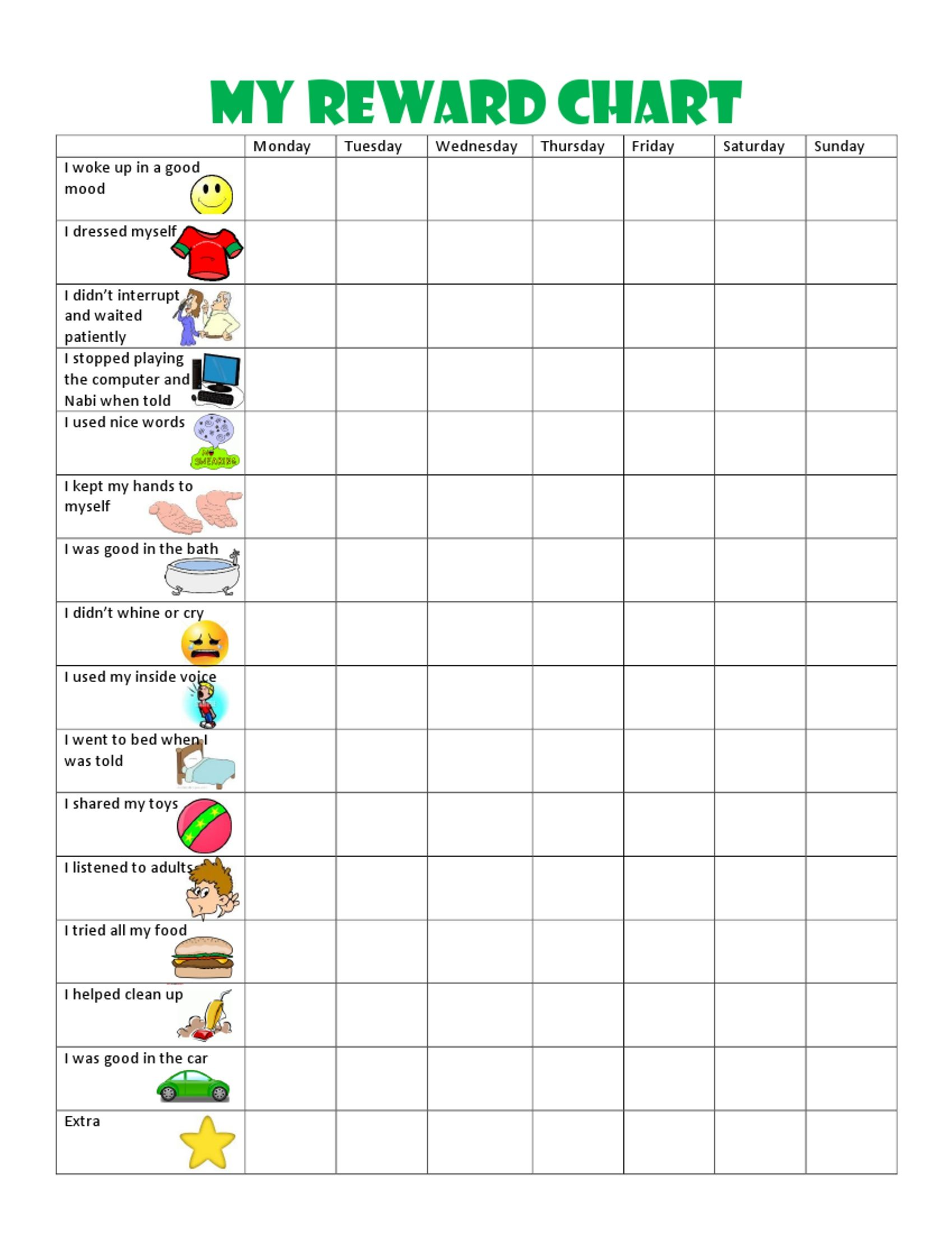 Kids Behavior Chart This Behavior Chart Changed Our Family