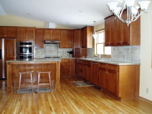 Oak Hardwood Flooring Kitchen D Some Rustic Modern Day Floor
