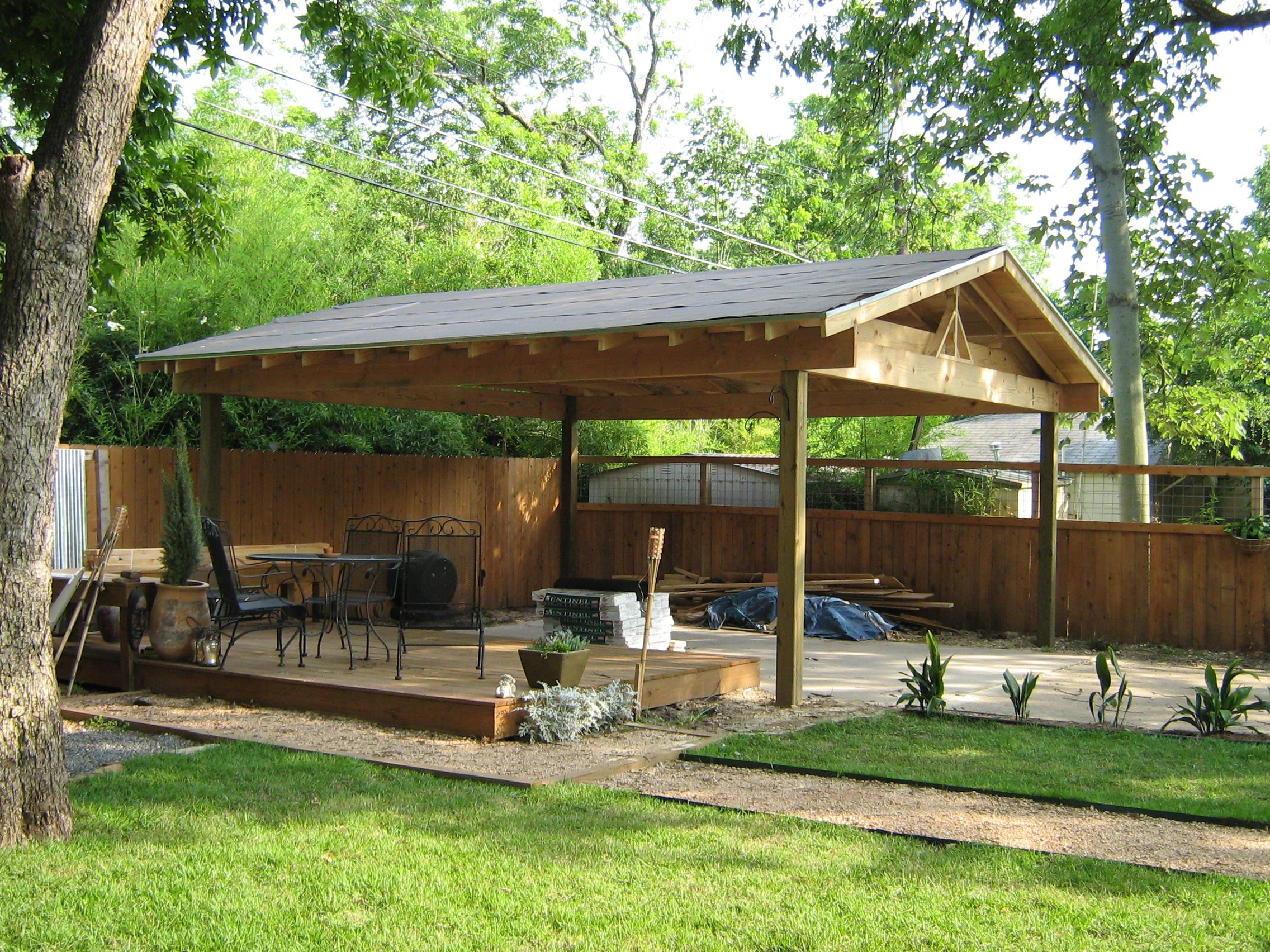 Free Standing Carport Plans products wood carports 54449