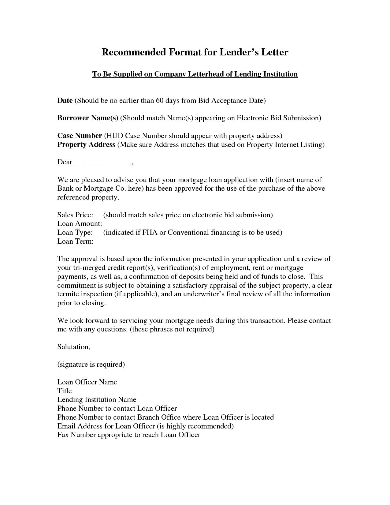Loan Application Letter Loan application letter is