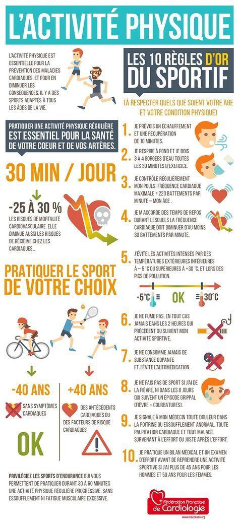 activite physique les 10 regles d or du sportif