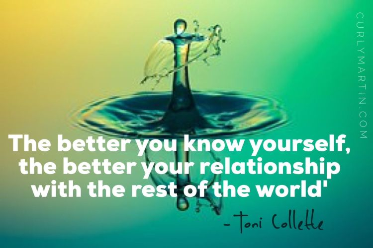 Image result for the better you know yourself the better your relationship with the rest of the world