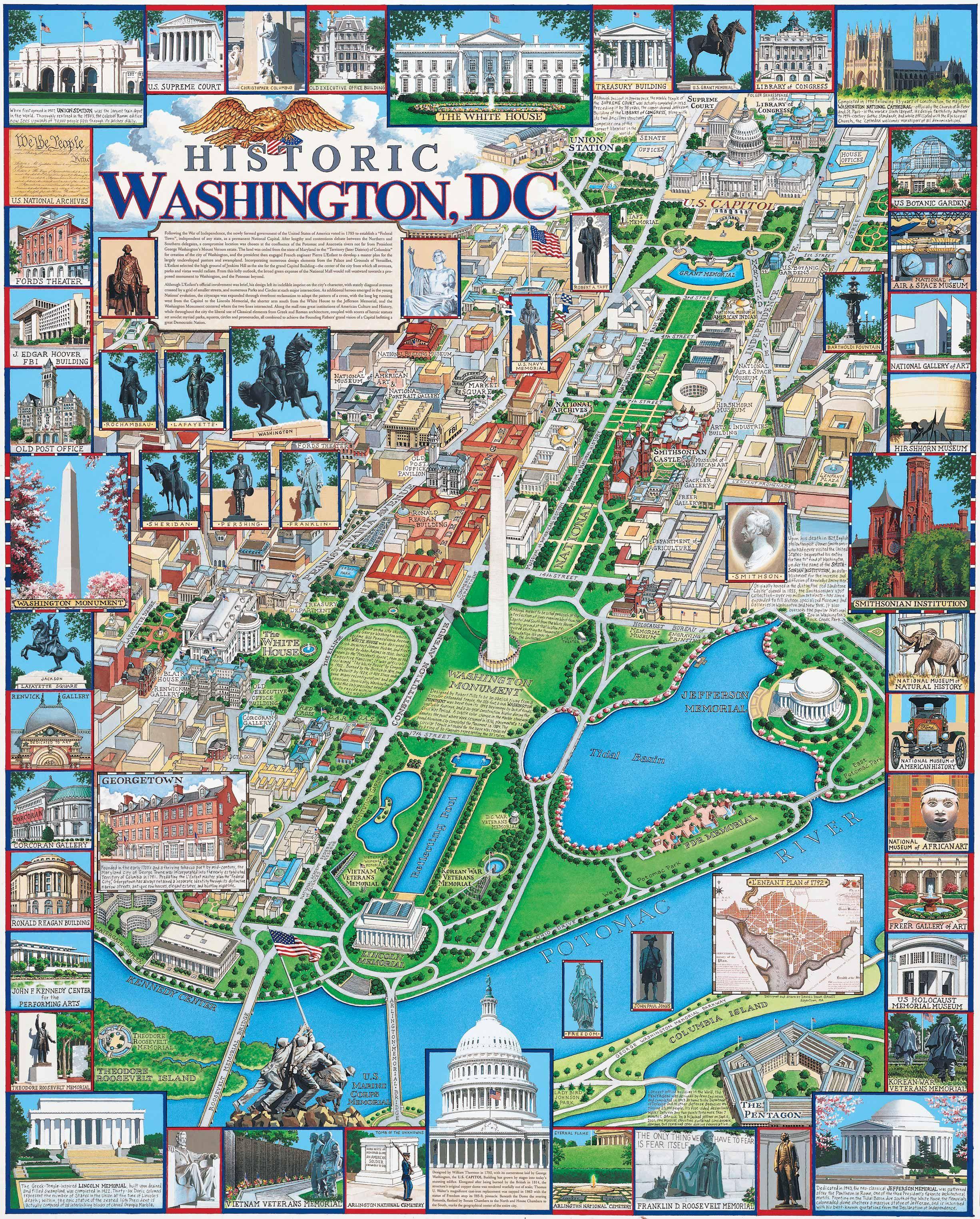 Dc Location Landmarks Worksheet