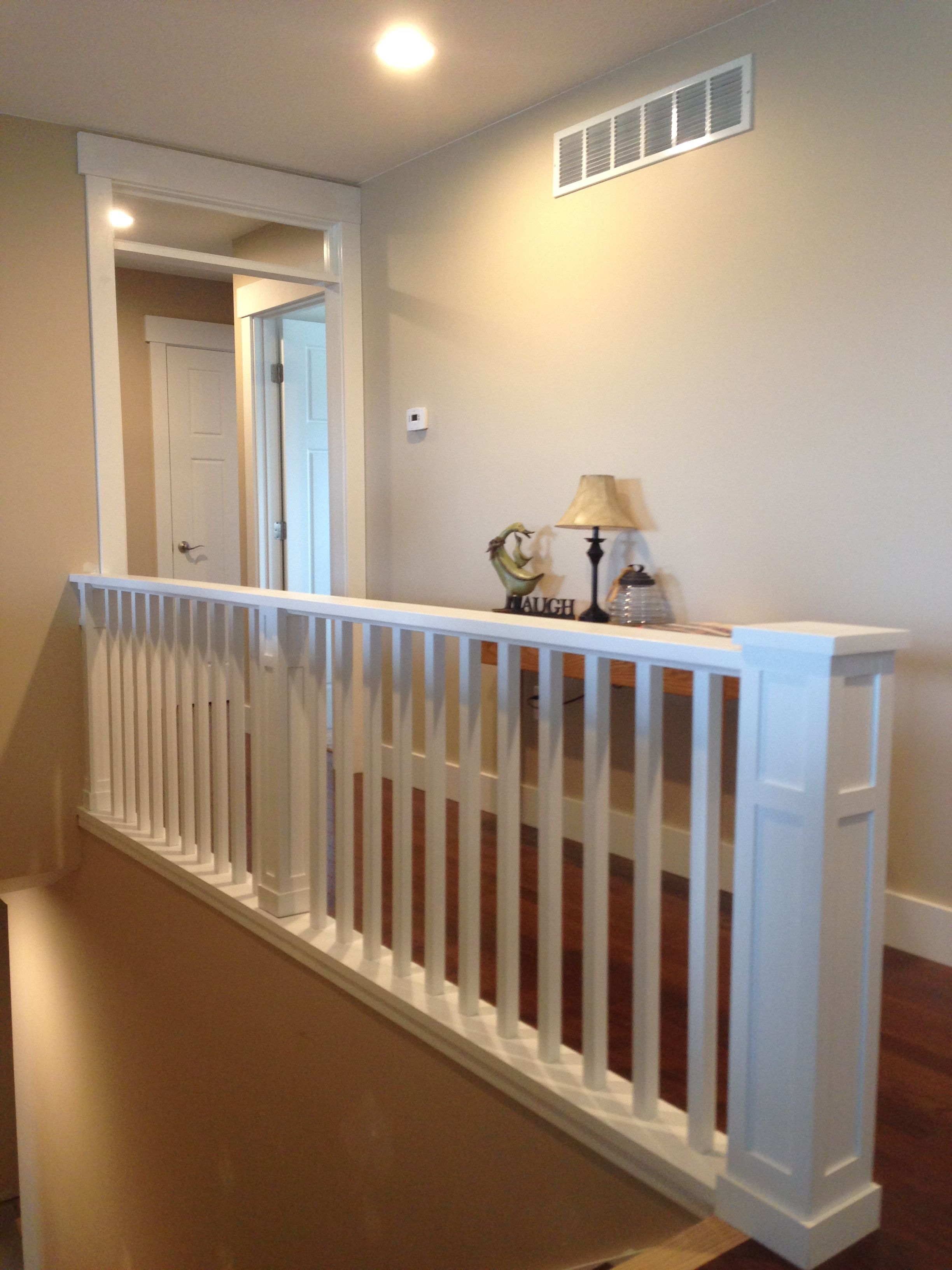 This Craftsman Style Balcony Staircase Has A Custom