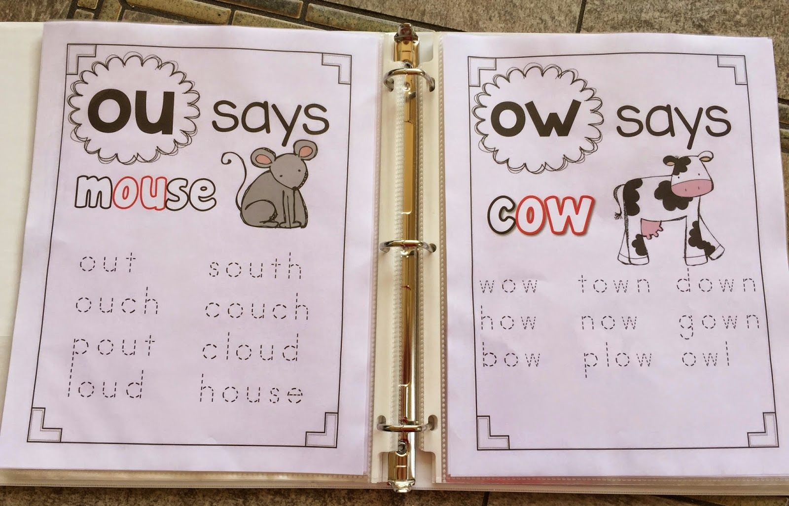 Phonics Tracers Vowel Teams Phonics Posters Guided