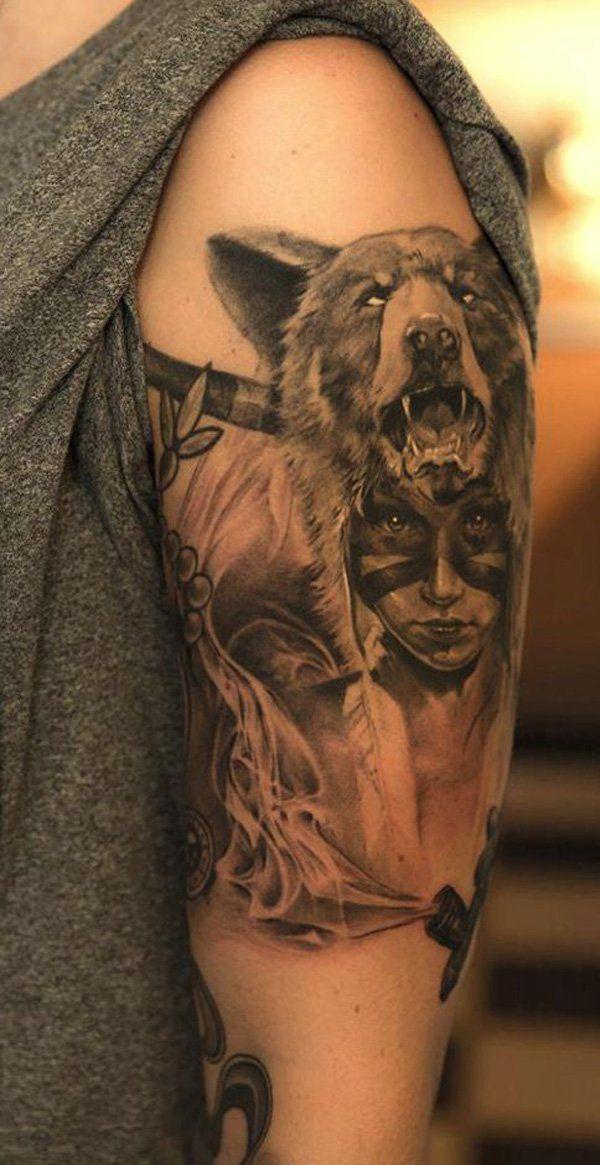 70 Native American Tattoo Designs American tattoos