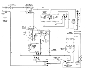 Ge Washing Machine Motor Wiring Diagram, Ge, Wiring