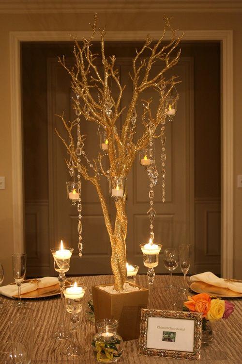 Tree Decorations For Weddings Manzanita Tree Wedding