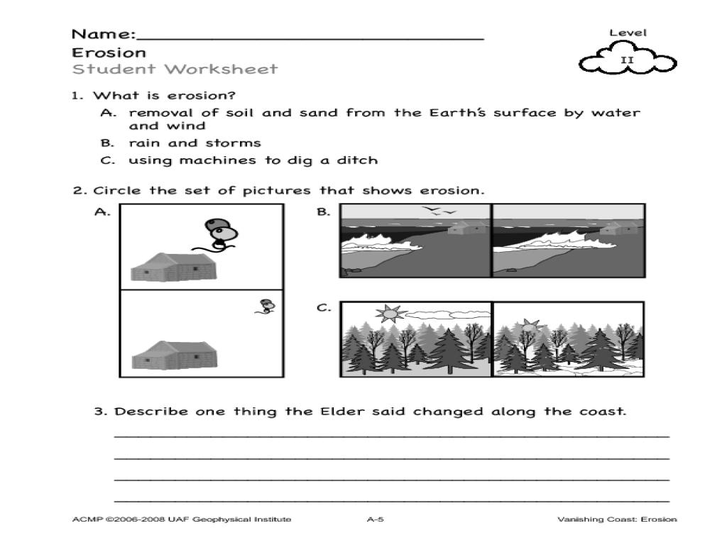 Best Unit Study Erosion Images Teaching Water