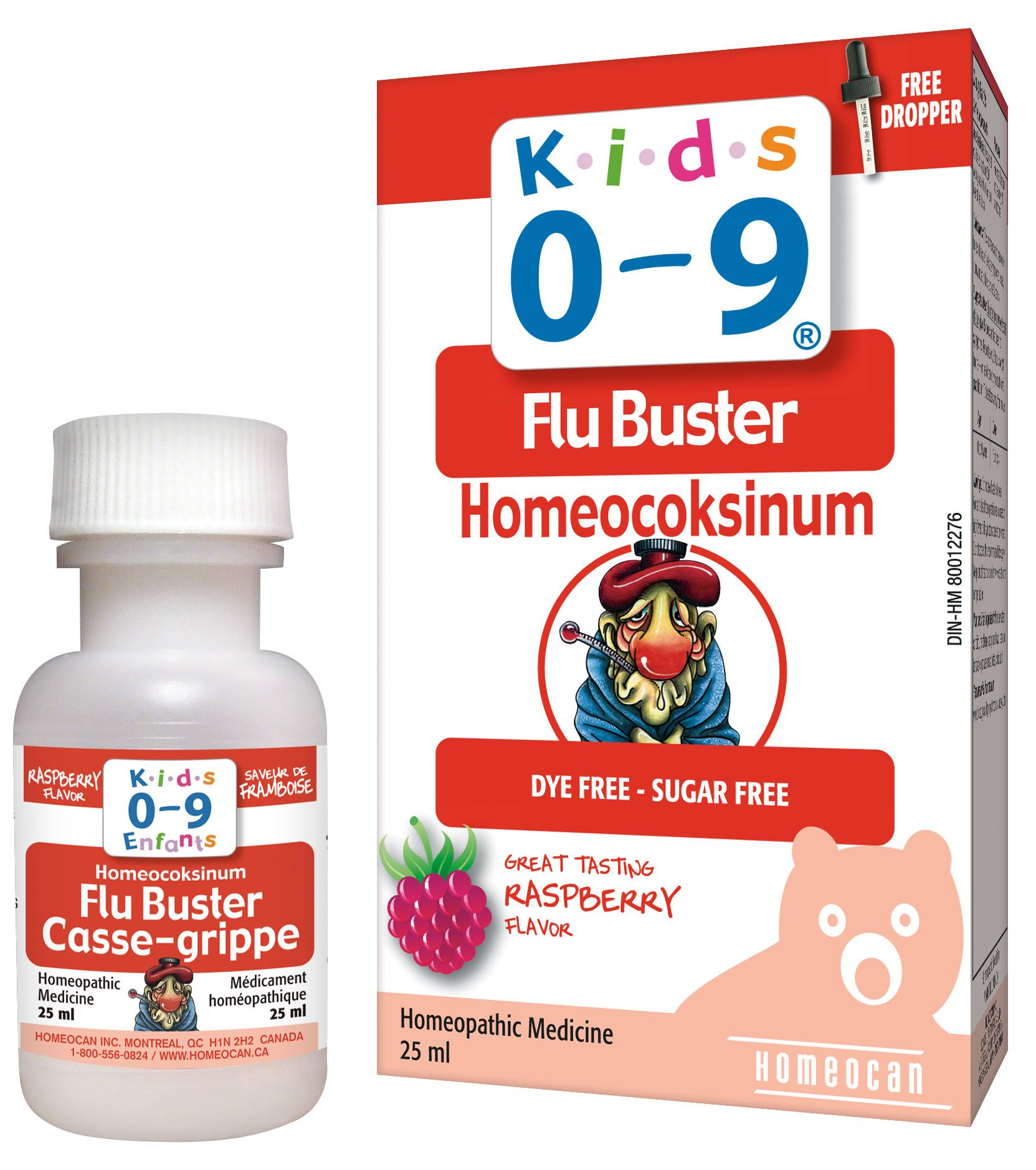 Kids 0 9 Flu Buster Oral Solution Great Raspberry Flavor
