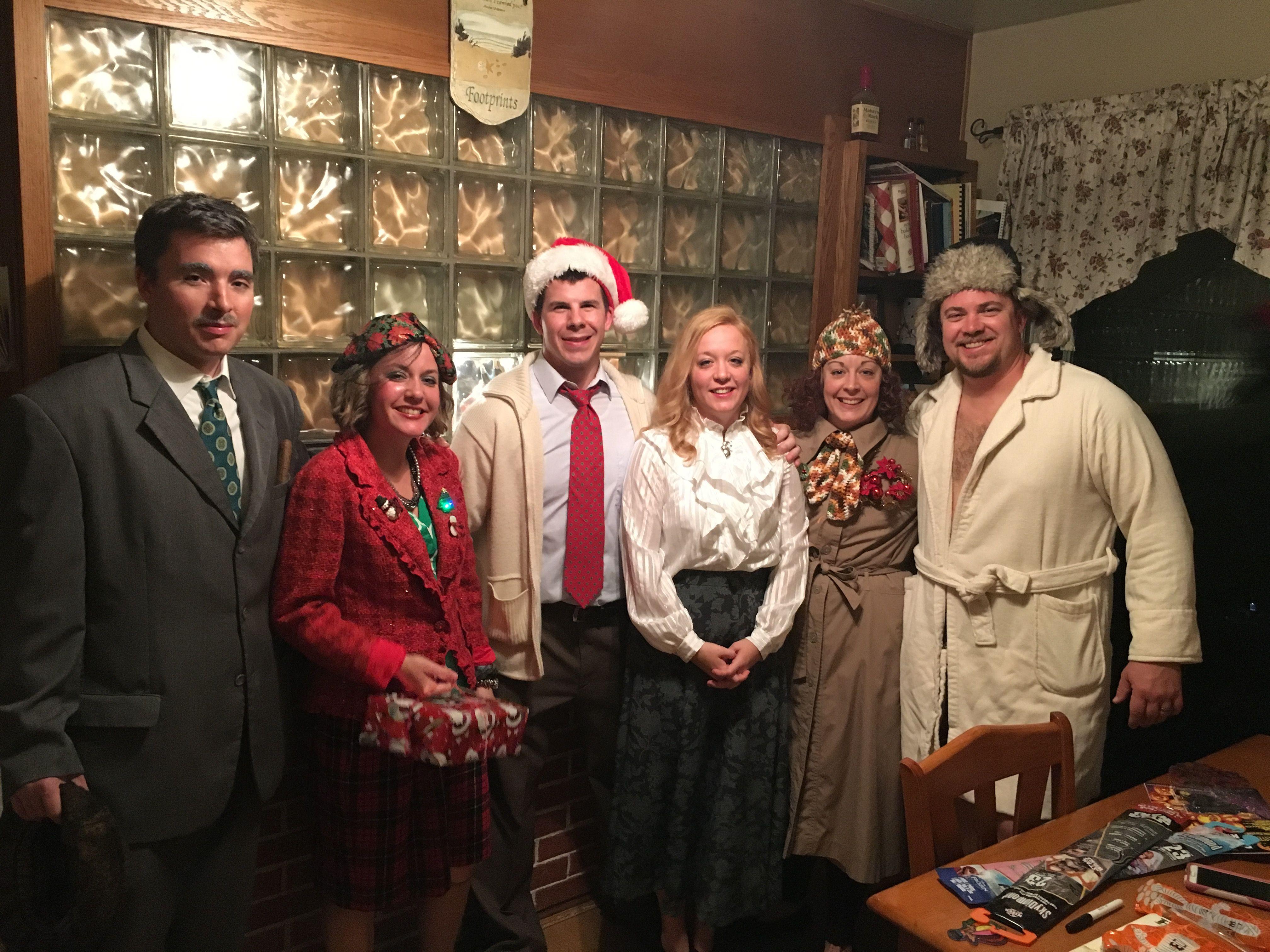 Christmas Vacation Halloween Group Costume Festive