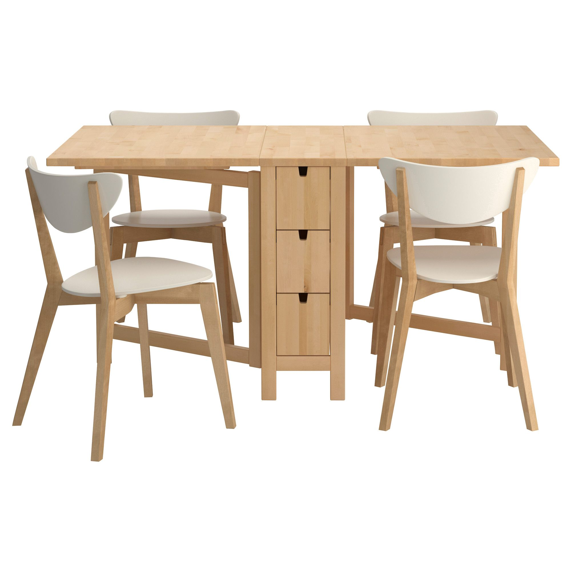 NORDEN/NORDMYRA Table and 4 chairs IKEA for the love