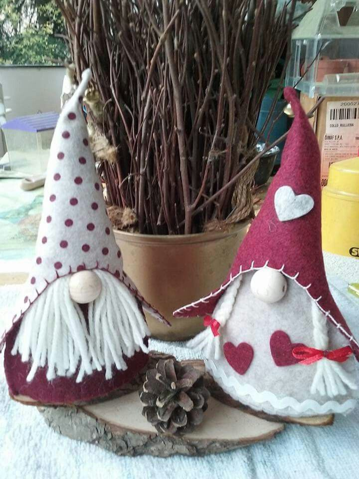 yarn beard idea...... all about the Gnomes! Pinterest