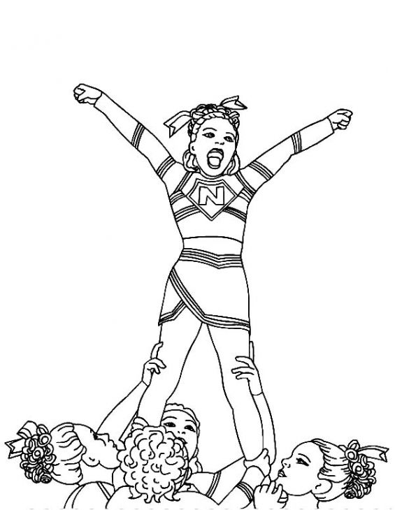 cheer coloring pages # 73