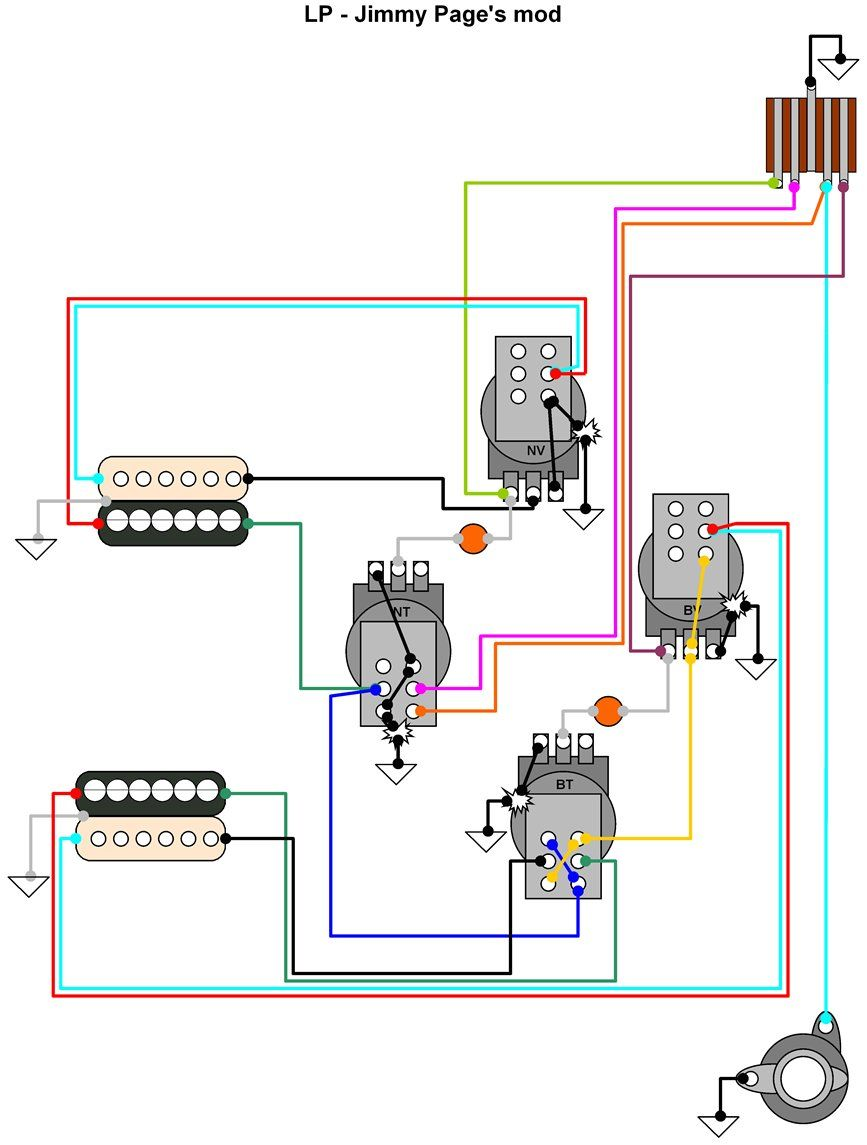 Gibson Pickup Wiring Great Design Of Diagram Color Code 500t 33 490t