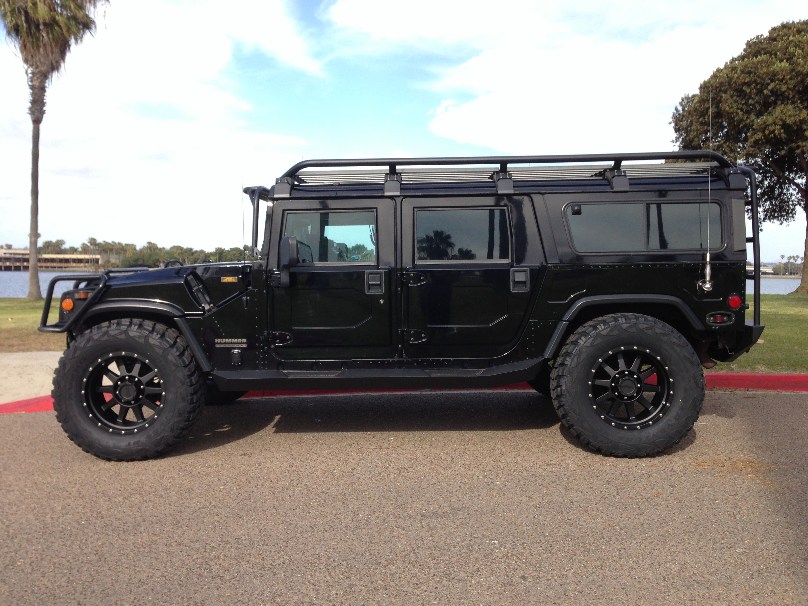 """sold— 2000 hummer h1 """"Search and Rescue edition"""" 35k miles"""