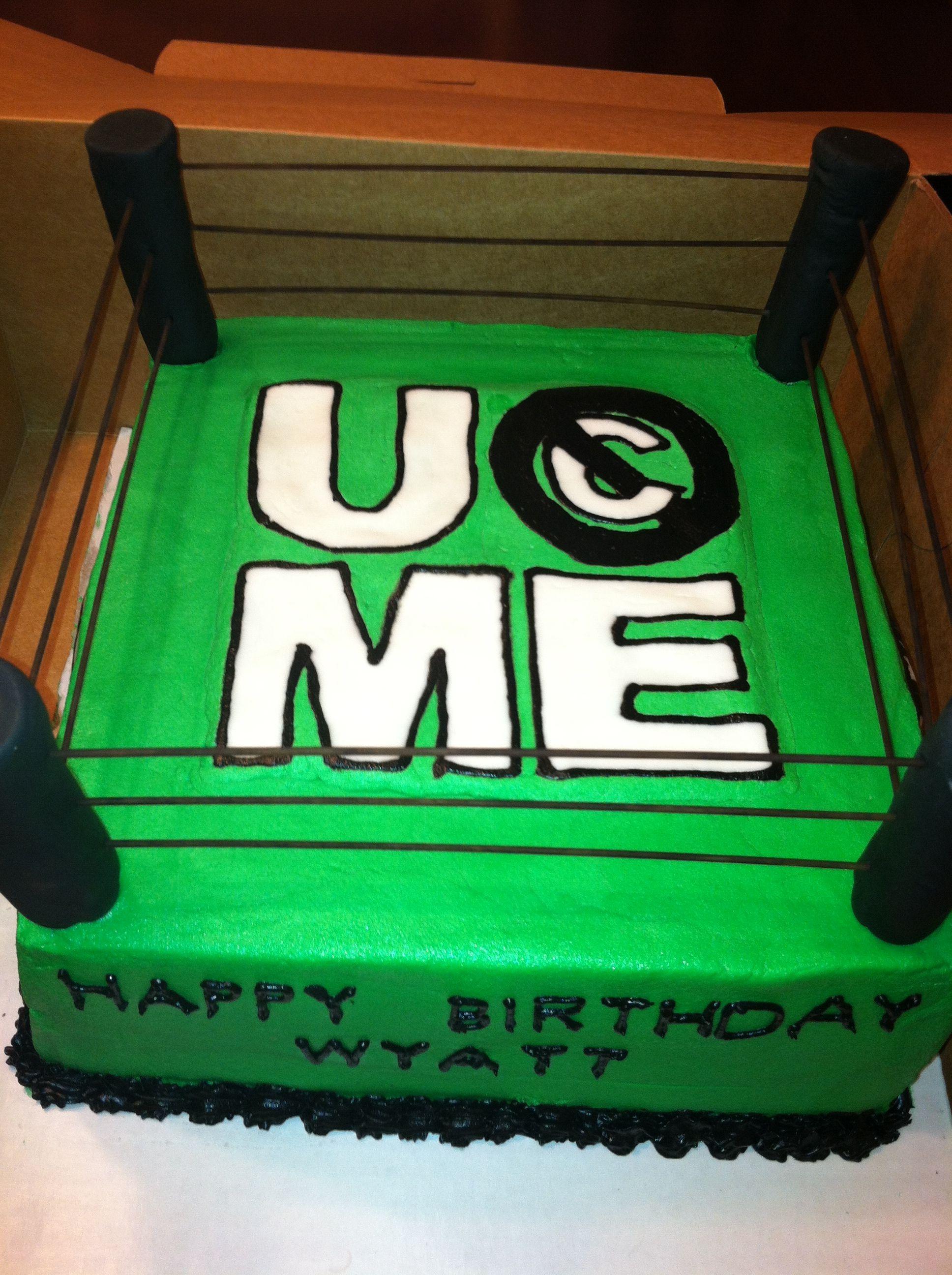 John Cena Cake My Next Birthday Cake
