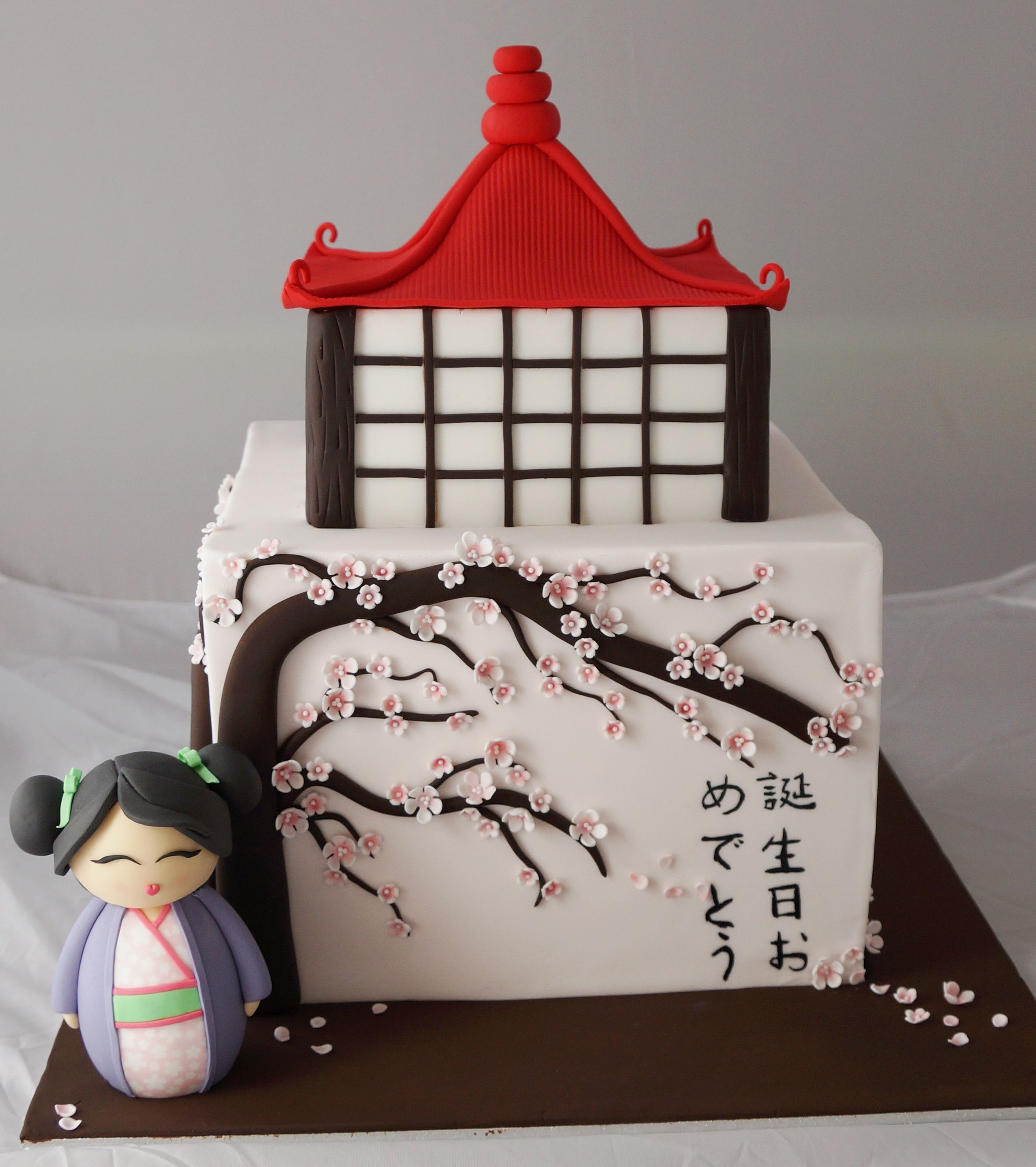 Japanese theme cake ) Kelly's Cake Toppers Pinterest